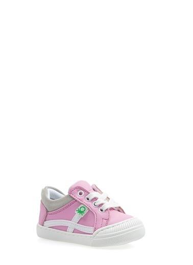 Benetton Bn1016  Çocuk Spor Ayakkabı Pembe